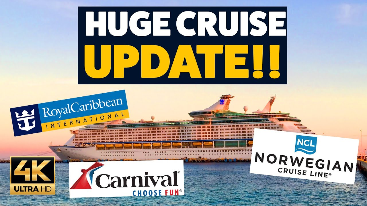 HUGE CRUISE UPDATE! Royal Caribbean MAJOR ship delay, Norwegian, Carnival and good news from MSC!