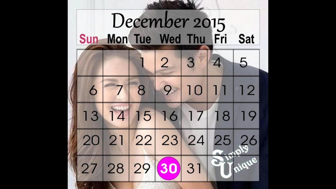 Personalized Calendar Wedding Giveaways Souvenirs Philippines Youtube