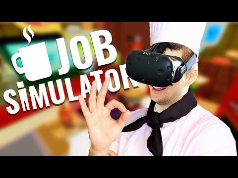 Job Simulator Gameplay - Top Chef! - Let's Play Job Simulator VR