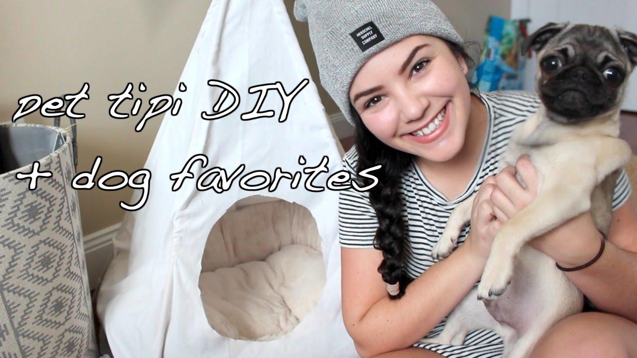 Easy affordable dog tipi diy puppy favorites and for Dog tipi diy