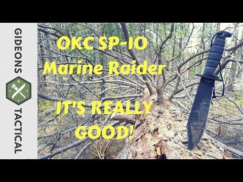 Its Really Good! Ontario SP-10 Marine Raider Bowie