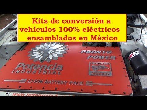 Kit de conversin vehculos 100% elctricos Ensamblados en Mxico