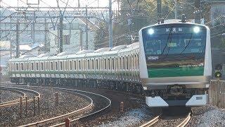 【約5年振りの増備】E233系ハエ132編成 東海道貨物線で試運転