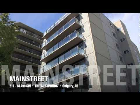 Calgary Apartments For Rent - Westwinds 211 14 Ave SW Calgary Alberta