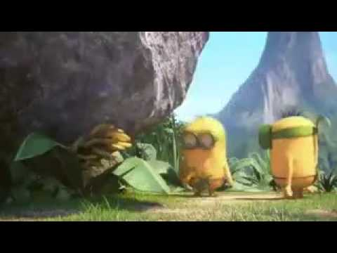 Los minions La papaya