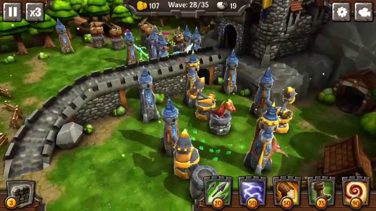3d tower defense