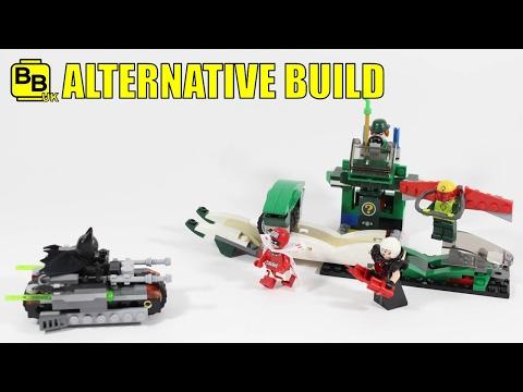 LEGO BATMAN MOVIE 70903 ALTERNATIVE BUILD RIDDLER