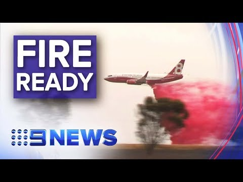 South Australia's Aerial Fire-fighting Weapon | Nine News Australia