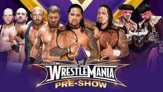 ST 126 (4) WrestleMania XXX Pre Show Tag Team Championship Match Review