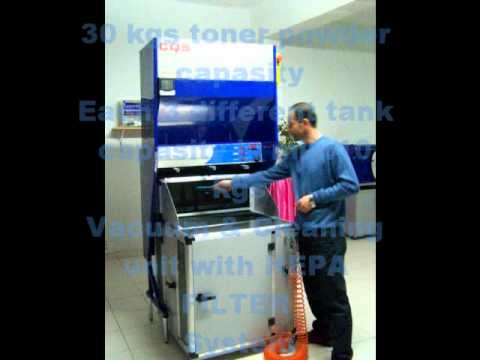 Laser Toner Cartridge Refill Machine Youtube