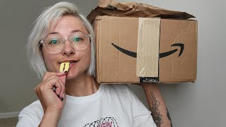 ASMR   Mystery Amazon Packages Unboxing w/ Soft Spoken Chatting, Tapping, & Plastic Crinkling