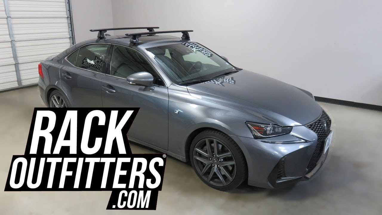 Lexus Is Outed With The Yakima Baseline Jetstream Roof Rack Crossbars