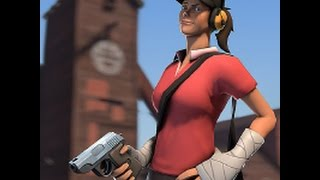 Freak Fortress 2: Female scout Gameplay