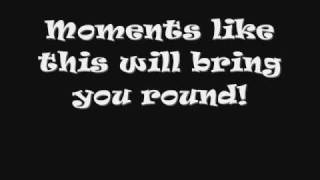 Reamonn - Moments like this - Lyrics