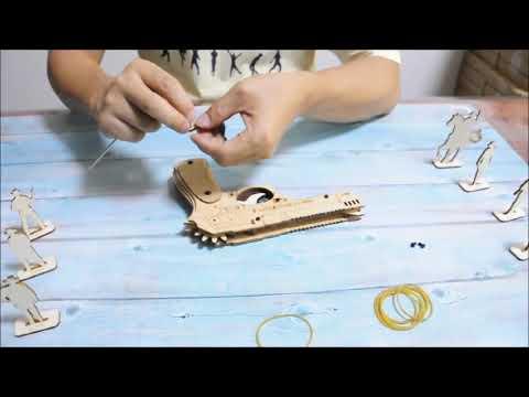 CZYY-Wooden Rubber Gun DIY