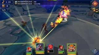 Lords Mobile Hero Stage Elite 8 3 using F2P Level 59 Heroes