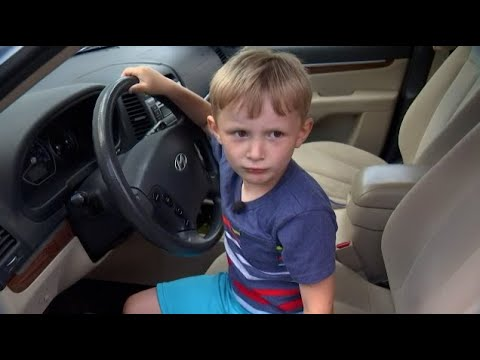 Andi and Kenny  - 4-Year-Old Takes SUV on Joyride to Get Candy