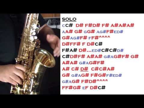 I WILL ALWAYS LOVE YOU - TUTORIALES PARA EL SAX ALTO - SANTIAGO PACHECO