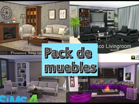 pack de contenido personalizado sims4 muebles youtube