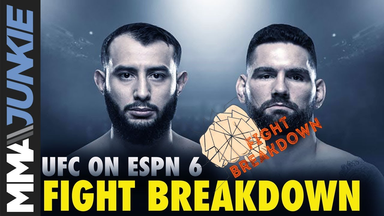 UFC on ESPN 6 results -- Dominick Reyes vs. Chris Weidman: Fight card, highlights, start time