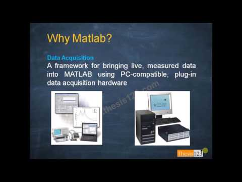 Quick overview of the MATLAB