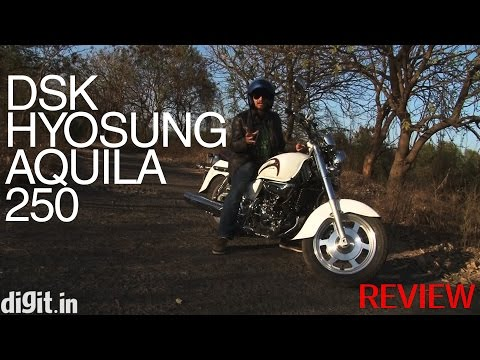 DSK Hyosung Aquila 250 - Hands-on bike review
