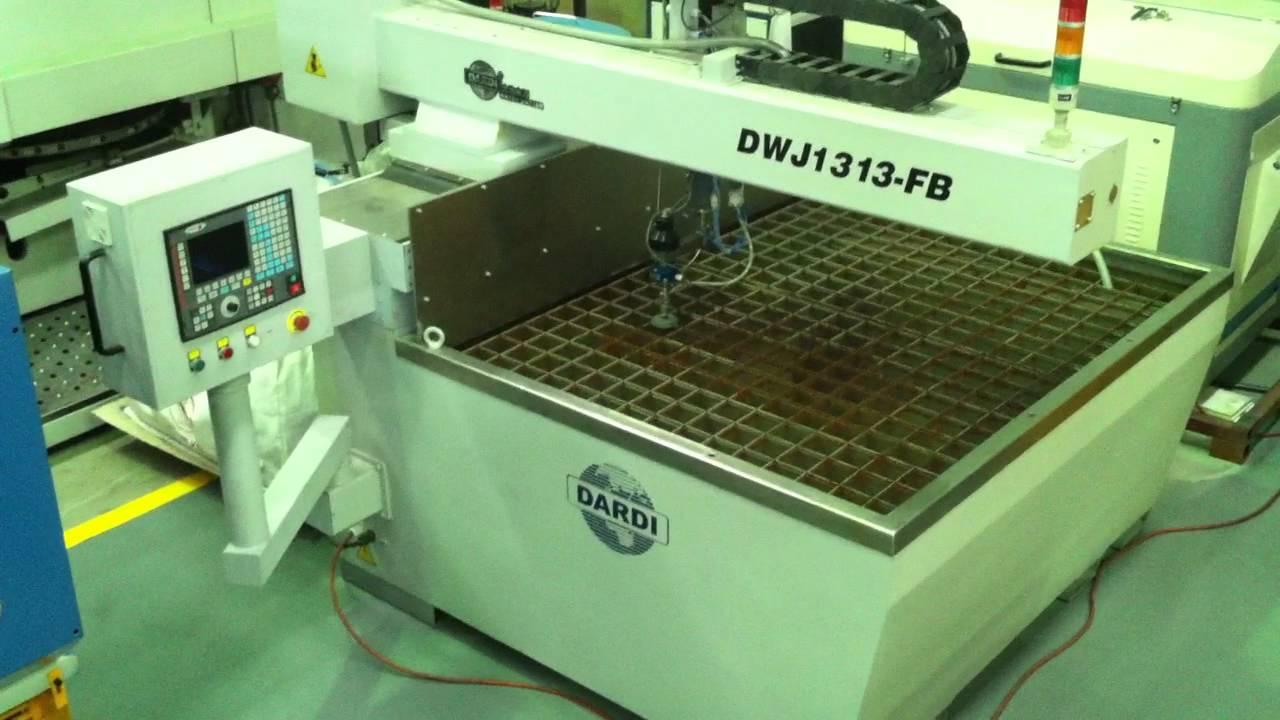 Dardi Water Jet CNC Profiler 1300mm x 1300mm Bed Model DWJ1313-FB