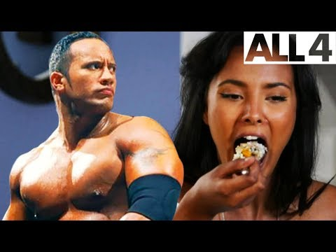 "Maya Jama Tries Dwayne ""The Rock"" Johnson's Crazy Hercules Diet!"
