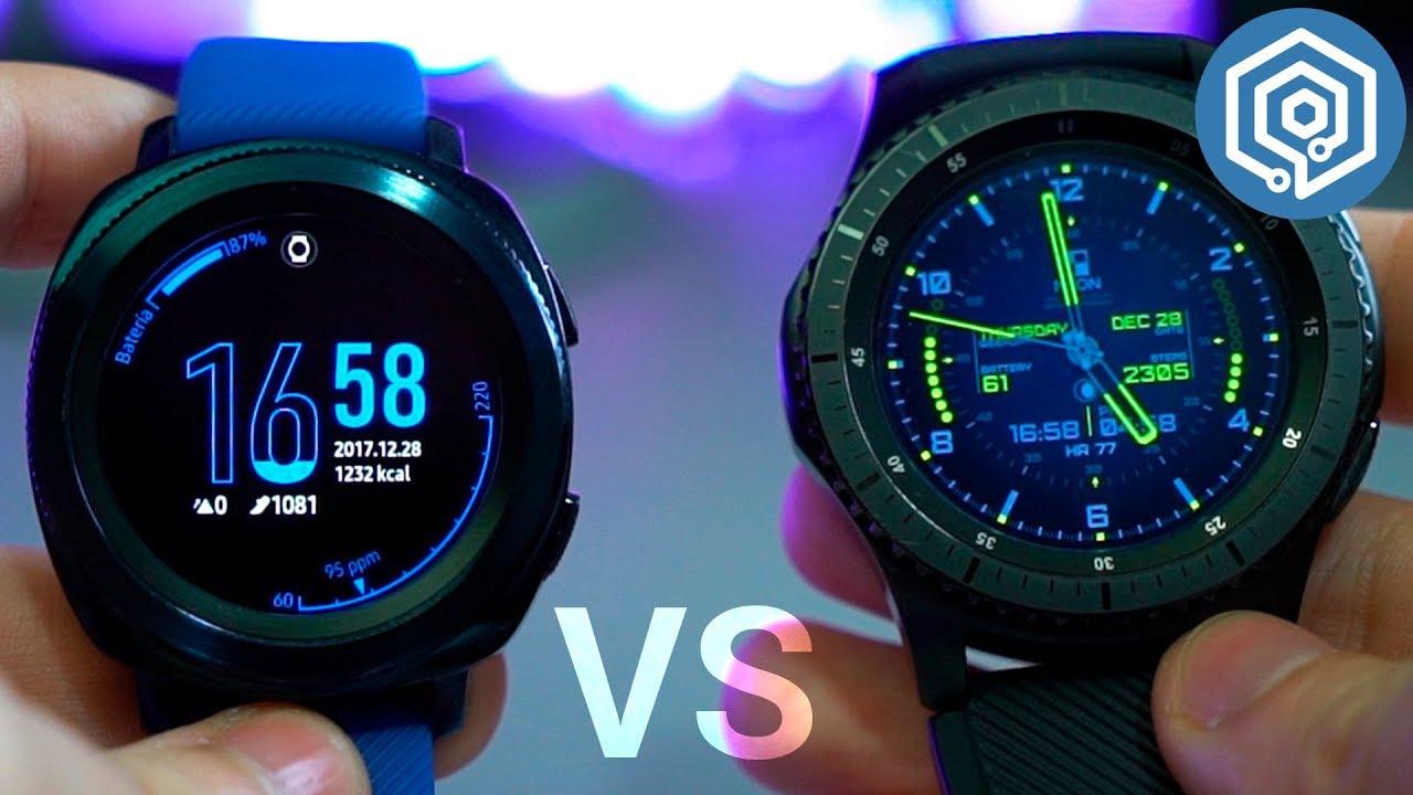 Gear Sport Vs Gear S3 Frontier Cuál Es La Mejor Elección Youtube