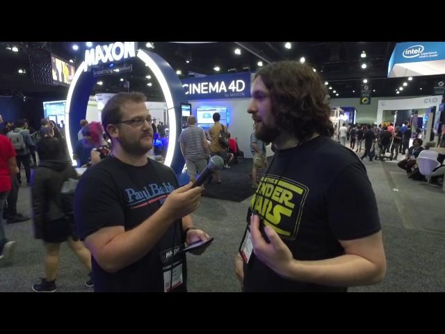 Siggraph 2017 Interview - Cinema 4D & Tutorial Artist David Ariew from Eyedesyn.com