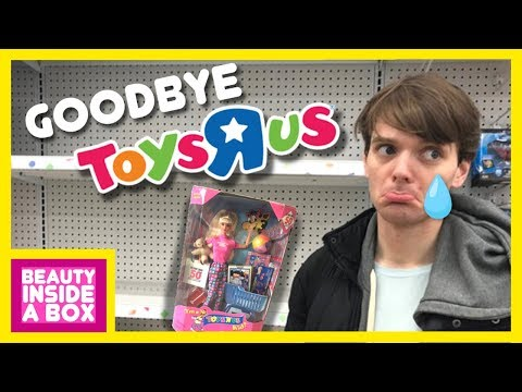 Goodbye Toys R Us - Barbie Doll Review - Beauty Inside A Box