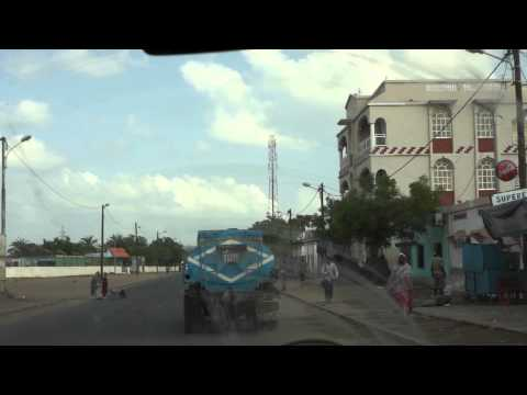 Driving in Djibouti City Oct 2012