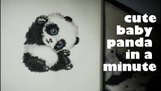 Cute Baby Panda Drawing Haihay Info