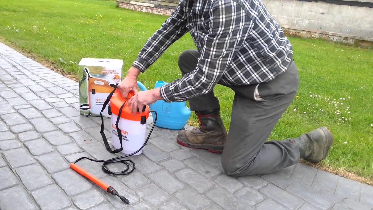 Easy Spray 5L Battery Garden Sprayer YouTube