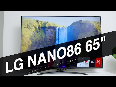 "LG NANO86 65"" 4K NANOCELL (2020) TV : Unboxing And Full Review After 1 Month!"