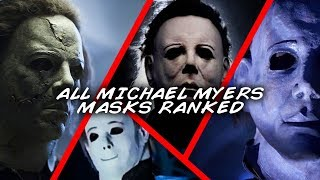 All Halloween Michael Myers Masks Ranked Worst to Best