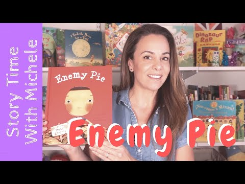 """Story Time With Michele! """"Enemy Pie"""" Read Aloud For Kids"""