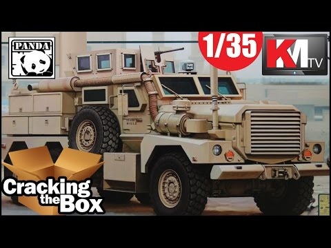 Unboxing Panda Hobby's Cougar 6x6 JERRV (1/35)