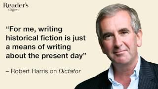 Robert Harris interview: Reader's Digest October podcast