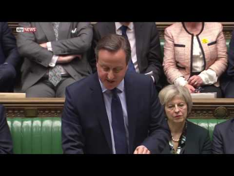 PM There Will Be No Second Vote  : EU Referendum