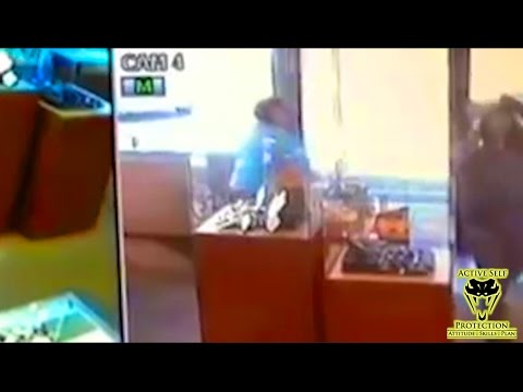 Armed Store Owner Beats Armed Robber to the Shot | Active Self Protection