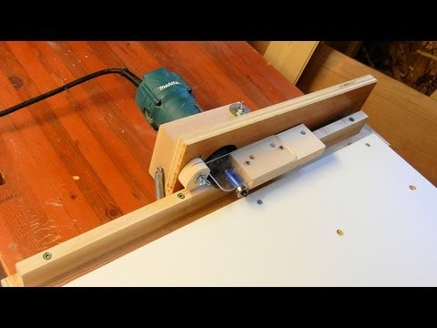 Edge Banding Trimmer - YouTube