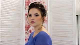 Прическа и макияж: свадебный стилист Светлана Беркунцова(www.stylist34.com., 2015-11-24T20:04:25.000Z)