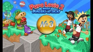Papa Louie 2: When Burgers Attack! |Папа Луи Атака Бургеров 2 | L.P. Rita #3