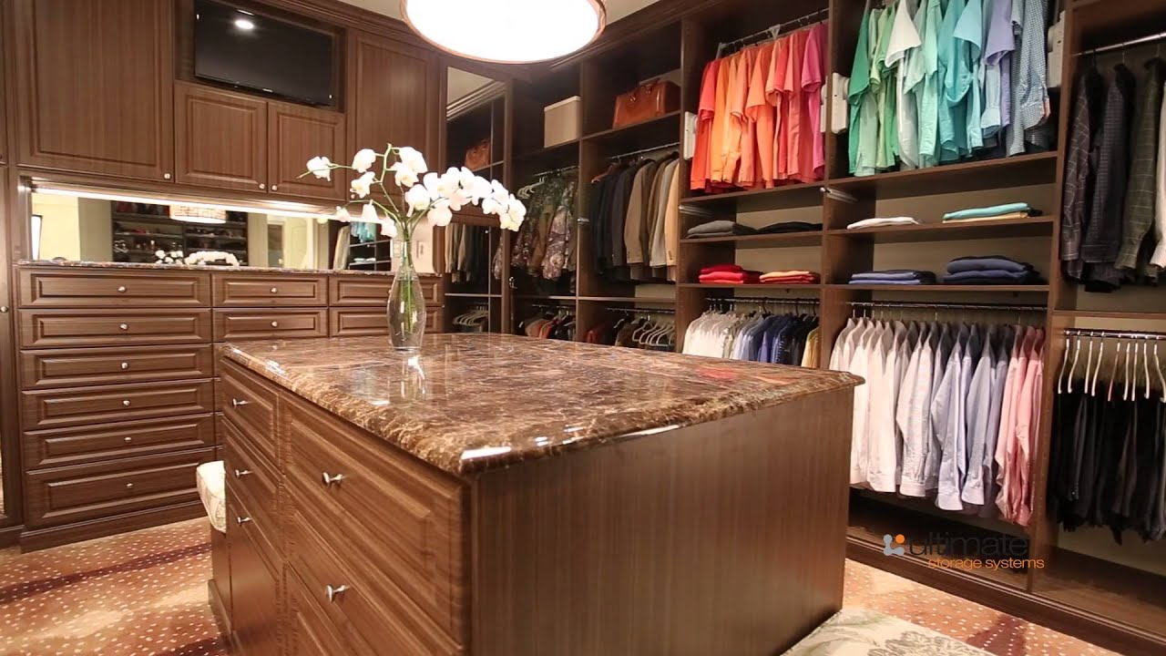 His And Her Ultimate Closet Systems Custom Closet Youtube