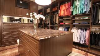 His And Her Ultimate Storage Systems Custom Closet