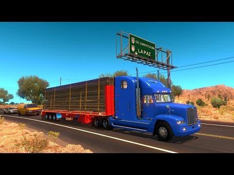 Freightliner FLD | Plataforma Ferbus destino San Carlos, Baja California Sur