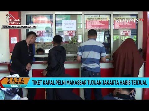 Tiket Kapal Pelni Makassar Tujuan Jakarta Habis Terjual
