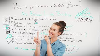 How to get Backlinks in 2020 and 2021 [Series] - Whiteboard Friday