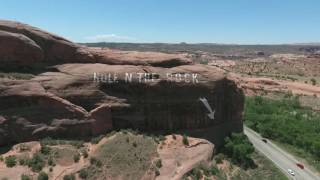 Utah Rest Stop - Hole in the Rock!